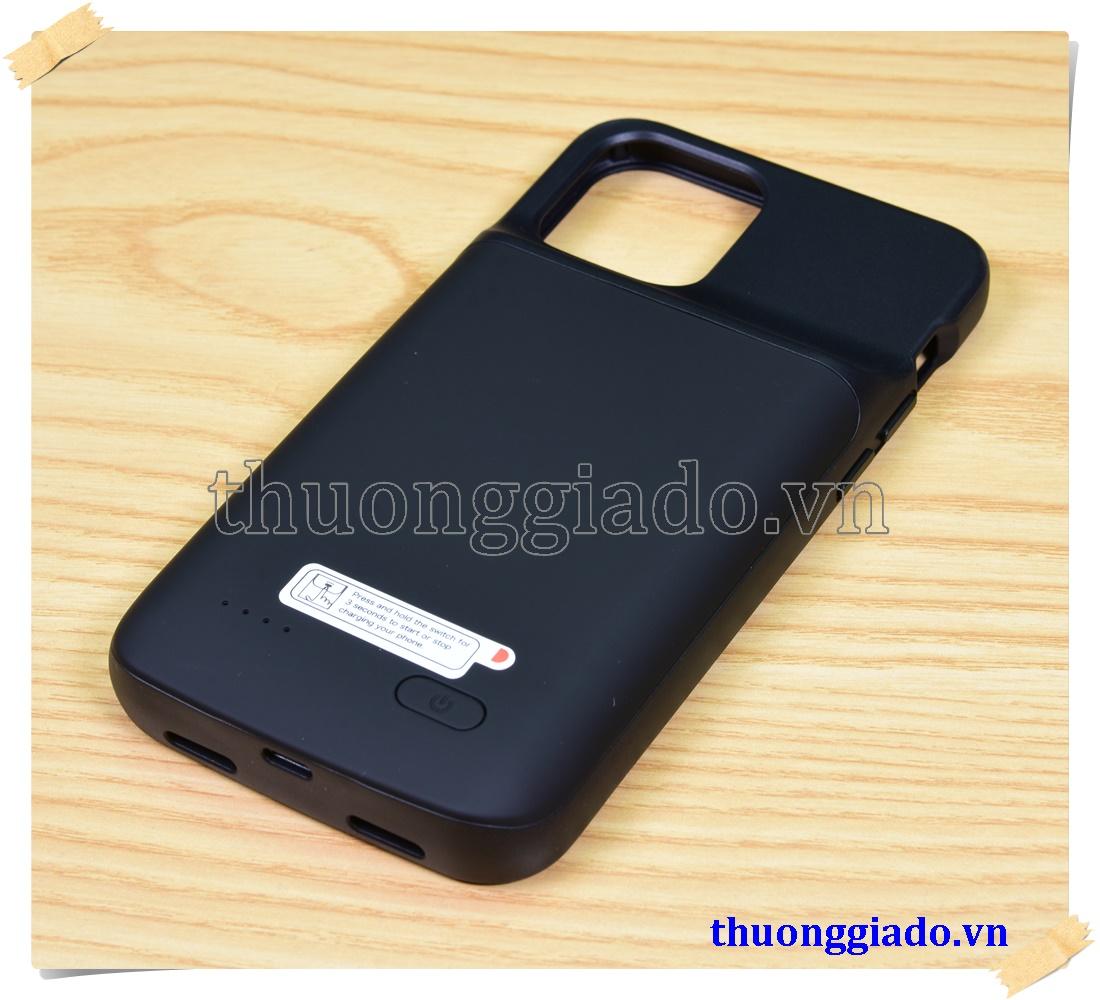Pin sạc dự phòng iPhone 12 (6.1 inch)/ iPhone 12 Pro (6.1 inch)  4800mAh kiêm ốp lưng