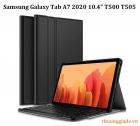 "Bàn phím bluetooth Samsung Galaxy Tab A7 2020 10.4"" T500 T505 kèm bao da"