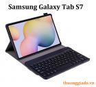 Bàn phím bluetooth Samsung Galaxy Tab S7 T870 T875 kèm bao da