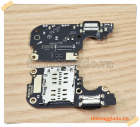 Thay cụm bo mạch chân sạc Mi 10 Lite, kèm micro nghe gọi + ổ chứa sim
